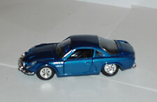 Renault Alpine in Blue 1/43rd Scale