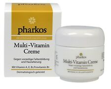 PHARKOS Multi Vitamin Creme mit Vitamin A E B3 Provitamin B5 50 ml