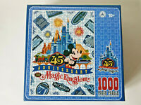 DISNEY MAGICAL KINGDOM 45th Anniversary 1000 Piece Jigsaw Puzzle EXCELLENT COND