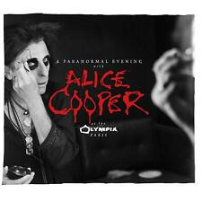 ALICE COOPER A PARANORMAL EVENING AT OLYMPIA PARIS 2 CD (Released 31/8/2018)