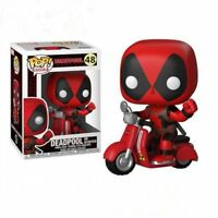 FUNKO-POP! Deadpool Ride a motorcycle Vinyl Action Figure Toy Doll 48# New