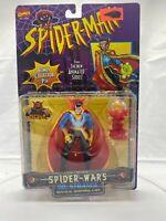 Marvel Comics Spider-Man Spider-Wars Dr. Strange Action Figure Toy Biz 1996