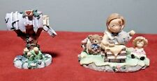 """Ivy & Innocence """"Tea For Three"""" Figurine #05032 Plus """"Special Delivery"""" #05184"""