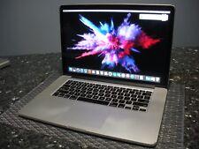 Apple macbook pro retina 15.4  Intel Core 2.6GHZ 16 GB memory 512 GB SSD 2012