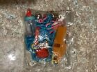 new/old/stock vintage 80's plastic necklace w/ charms