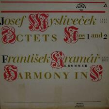 Myslivecek/Krommer-Kramar(Vinyl LP)Harmony For Wind Instruments-VG+/VG+