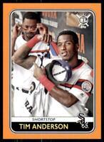 2020 Big League Base Orange #211 Tim Anderson - Chicago White Sox