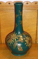 """Vintage Salopian Art Pottery Vase - Some Paint Wear - 9 1/2"""""""