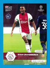 2020 Topps Now Champions League RAYAN GRAVENBERCH Rookie Card #23