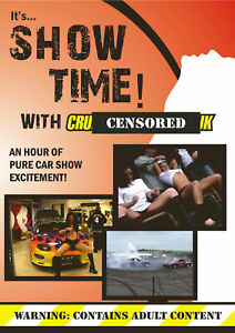 Show Time UK Car Show DVD Modified Cars,Drifting, Motorcycle Stunts, Wet T-Shirt