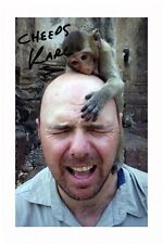 KARL PILKINGTON AUTOGRAPHED SIGNED A4 PP POSTER PHOTO 1