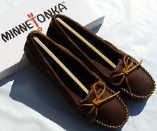 Minnetonka Women's Boat Moc - Chocolate - 9