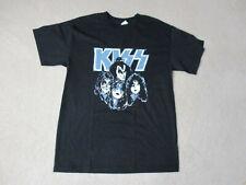 Kiss Concert Shirt Adult Medium Black Silver Rock Band Tour Music Rocker Mens