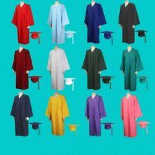 Unisex Graduation Gown University Academic Bachelors Robe Choir Preachers