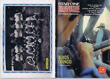 Star-ciné bravoure 123 01/1967  Adios gringo western Football Sochaux