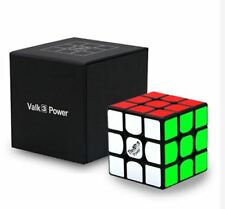 The Valk 3 Power 3x3x3 MoFangGe QiYi Magic Cube Black