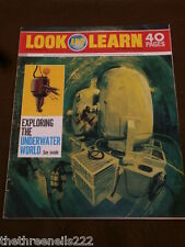LOOK and LEARN # 487 - THE UNDERWATER WORLD - MAY 15 1971