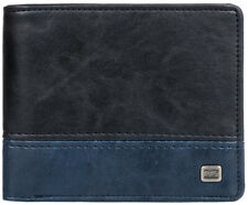 Billabong Dimension Faux Leather Wallet in Navy Blue