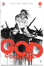 God Country #1 VF+ 2017 Image Comics 4th Printing Variant Donny Cates