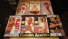 Denise Austin (VHS Exercise Lot of 7) Blast, Fat Burning, Sizzler, Kickboxing