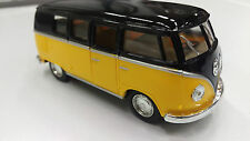Volkswagen Classical Bus1962 yellow black kinsmart TOY model 1/32 scale diecast