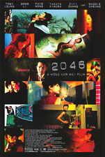 2046 Movie POSTER 27x40 B Tony Leung Chiu Wai Li Gong Takuya Kimura Faye Wong