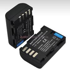 2x 1860mAh Battery for DMW-BLF19E Panasonic Lumix DMC-GH4 DMC-GH5 DMC-GH3 Camera