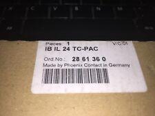PHOENIX CONTACT  IB IL 24 TC-PAC  MODULO TERMISTOR NEW opened PACKAGE