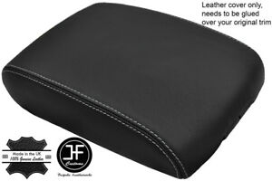 GREY STITCH REAL LEATHER ARMREST COVER FITS INFINITI QX70 FX35 FX50 FX37 09-17