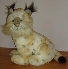 """LYNX 14"""" stuffed Sitting plush by America Wego NICE!"""