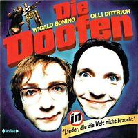 (CD) Die Doofen - Lieder, Die Die Welt Nicht Braucht - Mief!, Jesus, Fkk, u.a.