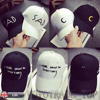 Mens Ladies Unisex Hat Fashion Baseball Cap Cotton Snapback Hip Hop Hats Cap New