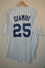 MAJESTIC NEW YORK YANKEES GIAMBI # 25 BASEBALL JERSEY XL MENS