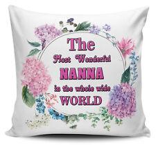 The Most Wonderful Nanna in The World Novelty Cushion