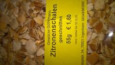 Zitronenschalen geschnitten(unbehandelt) 55g-OHNE ZUSATZSTOFFE-Gewürze Gütermann