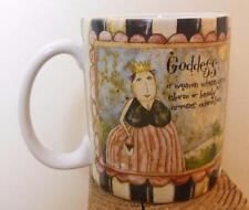 Vintage Godess Mug Lang Art by Good and DiPaolo