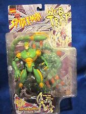 1997 Toy Biz Spider Man Web Trap Sinister Scorpion Sealed