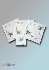 3 pièces CLASSIQUE FEMMES tissus coton mouchoirs pour femme à fleurs