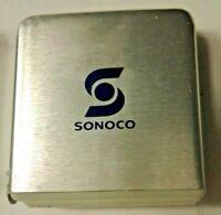 Vintage PARK AVE ADVERTISING Pocket Tape Measure SONOCO 6 Foot Tape