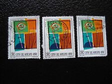 VATICAN - timbre yvert et tellier n° 978 x3 obl (A28) stamp (A)