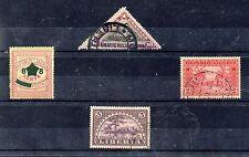 Liberia Valores del año 1910-16 (CY-788)