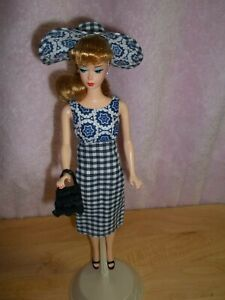 NEW VINTAGE REPRODUCTION BARBIE PLUS OOAK HANDMADE REPRO LUNCH ON THE TERRACE