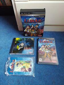 LUNAR : SILVER STAR HARMONY : PREMIUM EDITION - NTSC - Sony PSP RPG - Complete