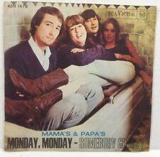 45 Record MAMA'S & PAPA'S - MONDAY MONDAY - RCA - ITALY PS