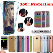 360 Case For Samsung Galaxy S9 S8 S7 Plus A3 A5 J3 J5 Cover Silicone Shockproof
