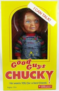 "Chucky (Child's Play 2) - Poupée Parlante 38cm ""Good Guys"" - Mezco"