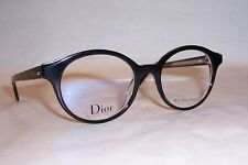 c0eda190e155 NEW CHRISTIAN DIOR EYEGLASSES CD MONTAIGNE 2 G99 BLACK 49mm RX AUTHENTIC