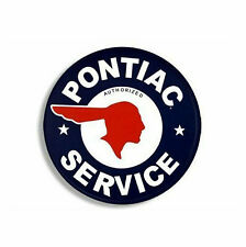 Pontiac Service Sticker Vinyl Decal 4-706