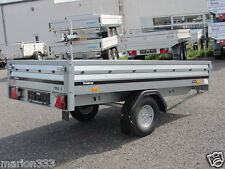 HK  Hochlader  2.500 x 1.420 mm 1-achser, V-Deichsel, mit 100 km/h-Abnahme
