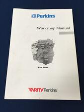 Perkins Manual de taller para 4.108 4.107 & 4.99 motores Diesel 1991